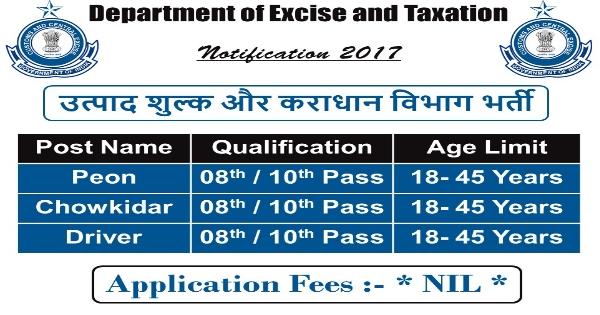 Income Tax Dept. Recruitment