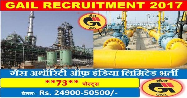 GAIL इंडिया लिमिटेड भर्ती