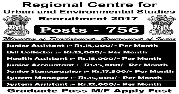 Regional Centre Recruitment