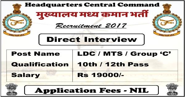 Central Command Recruitment
