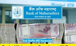 Bank Of Maharashtra Job