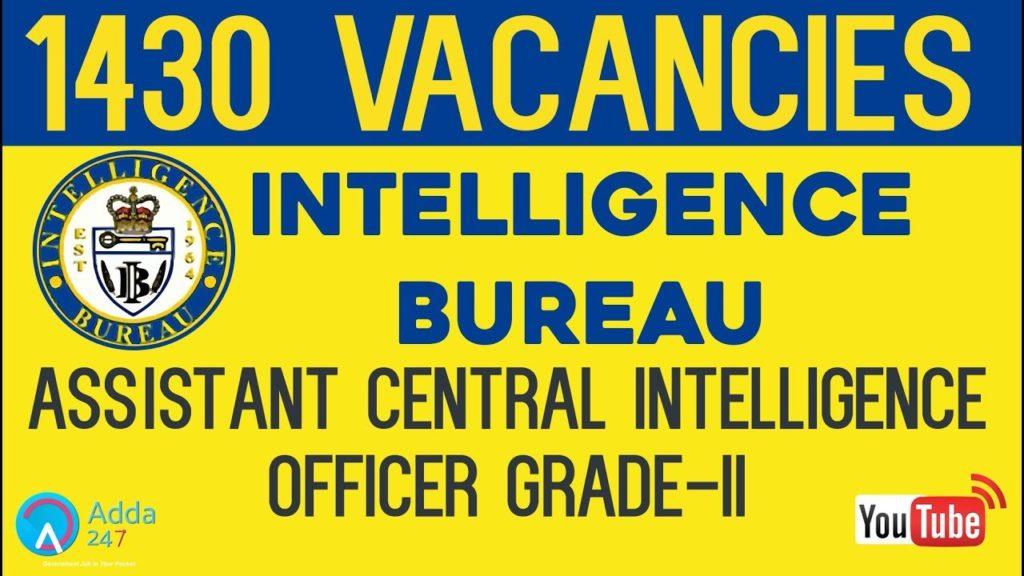 Intelligence Bureau (IB) Recruitment