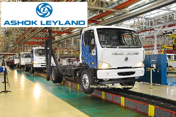Ashok Leyland Recruitment 2019 | 10th / 12th Pass Apply Now