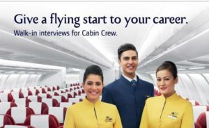 Jet Airways Recruitment 2018-2019