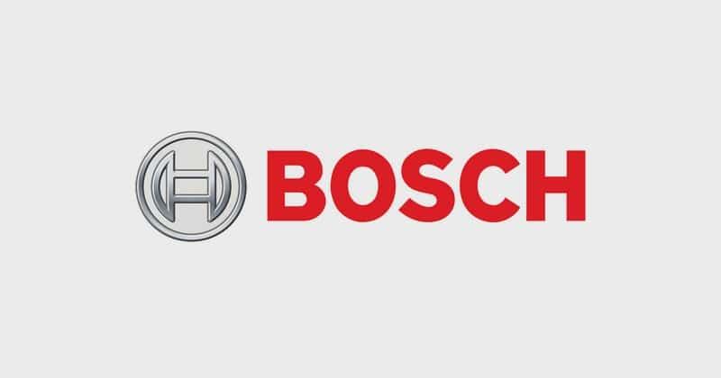 Bosch Recruitment 2018
