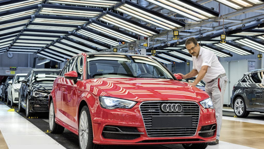 Audi Recruitment 2018