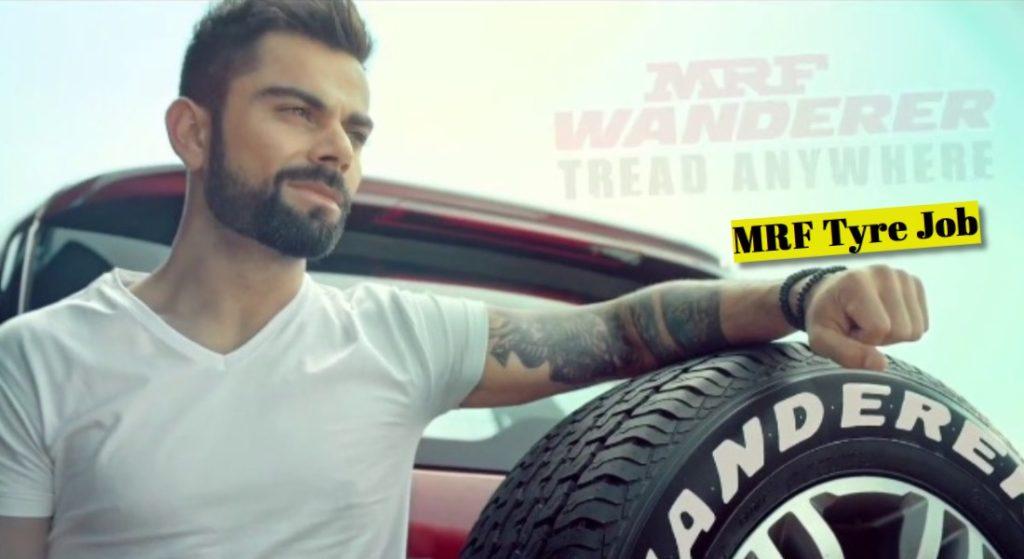 MRF Tyres Recruitment 2019